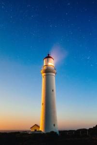 Leuchtturm-Sterne